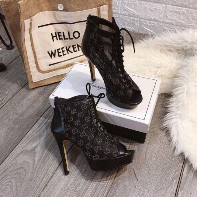 Giày cao gót dây cột 12 Cm | Giao hàng tận nơi