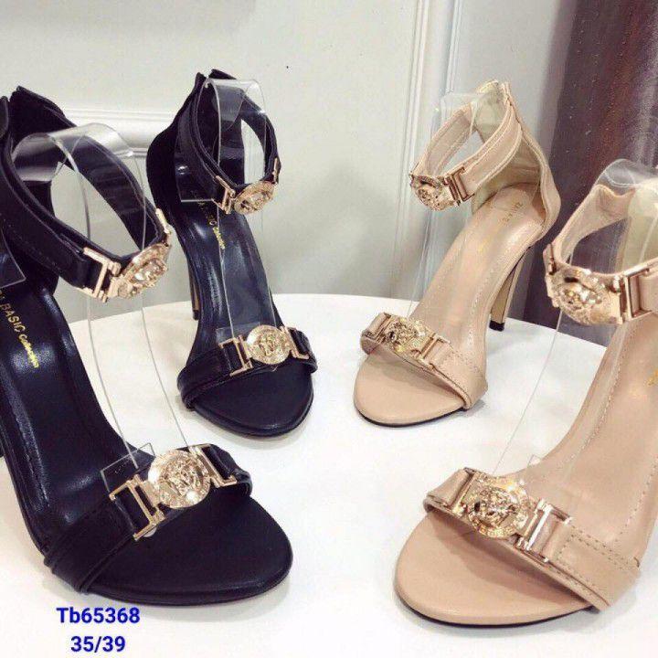 Giày cao gót nơ 9cm
