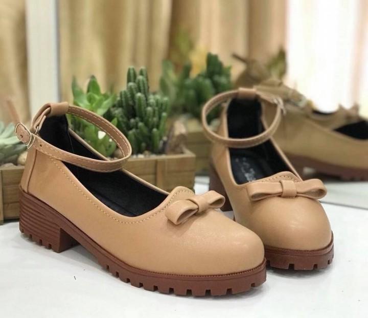 Giày oxford cao gót