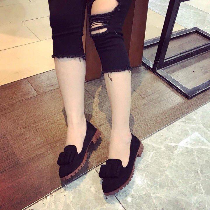 Giày Oxford Nhung | giao hàng tận nơi