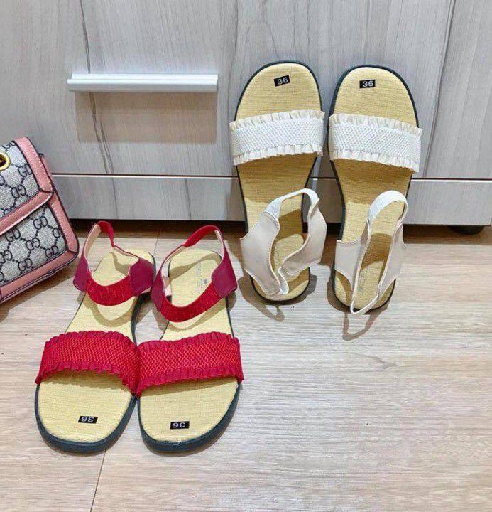 Giày sandal quai ngang thun