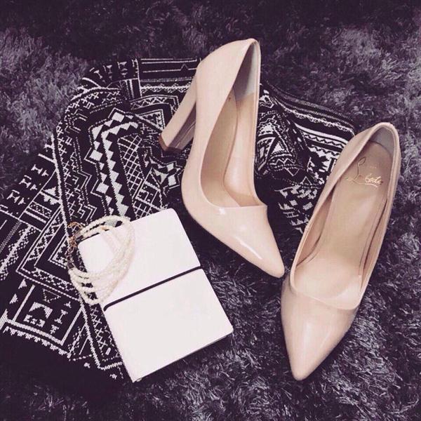 Giày cao gót trụ 10cm | #1 Giày công sở Nữ