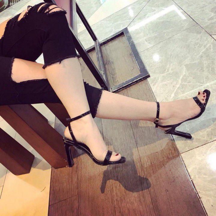 Giày cao gót gót kim loại 9cm