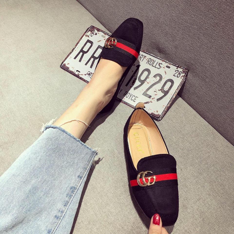 Giày mọi gucci nữ tại tphcm rẻ đẹp