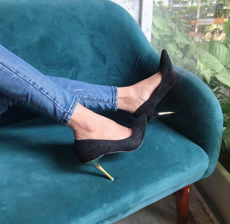 giày công sở 9cm