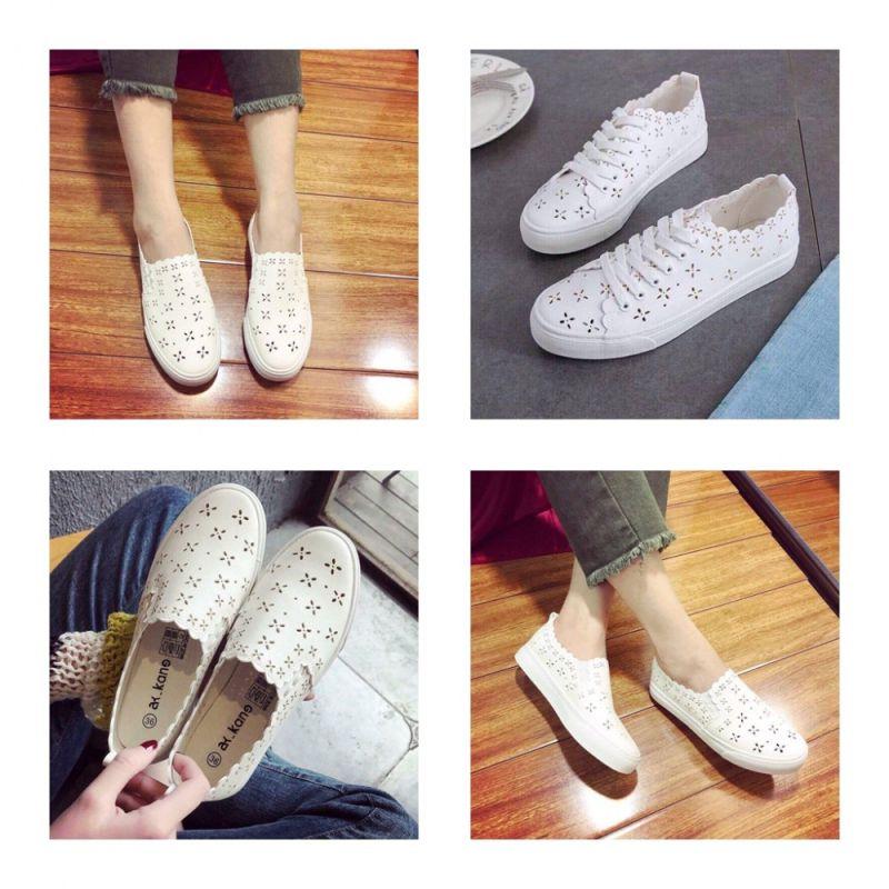 giày lười thể thao nữ