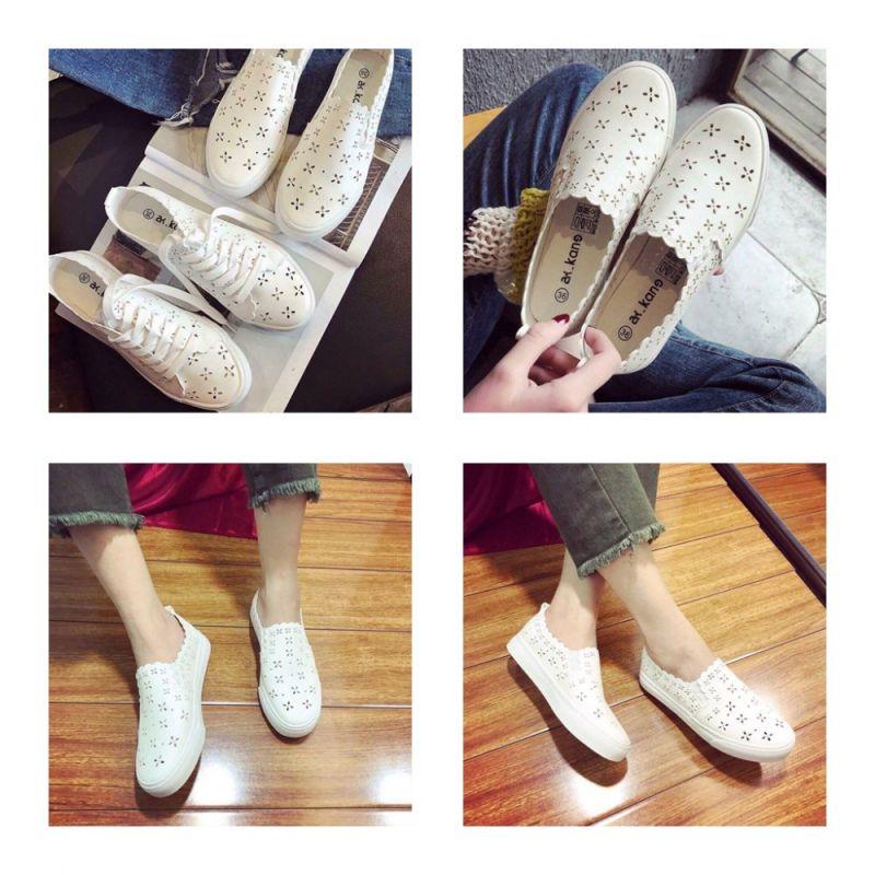 giày lười thể thao nữ  đẹp hcm