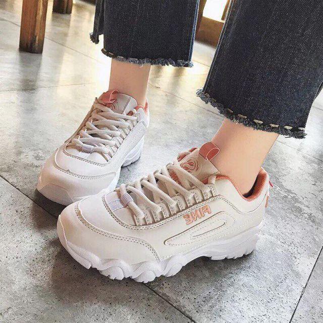 Giày thể thao độn đế 2cm