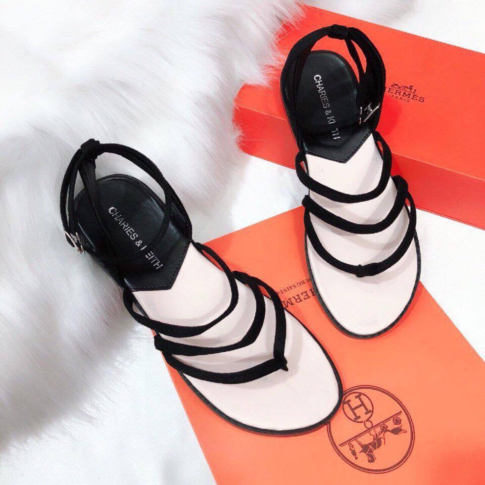 giày sandal dây mảnh đẹp nữ