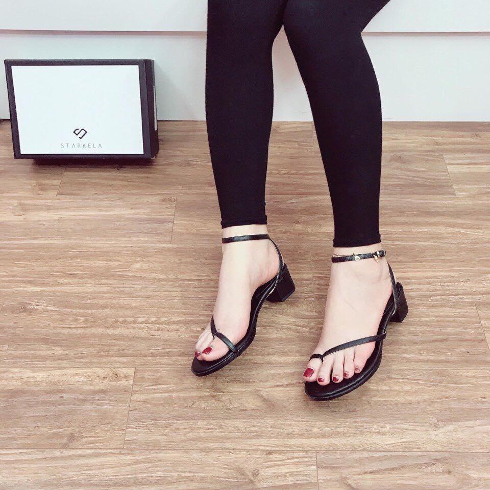 giày sandal nữ quai chéo đẹp