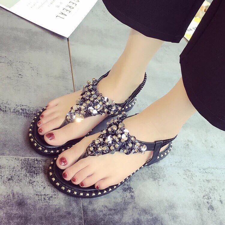 Giày xăng đan tam giác đế mềm