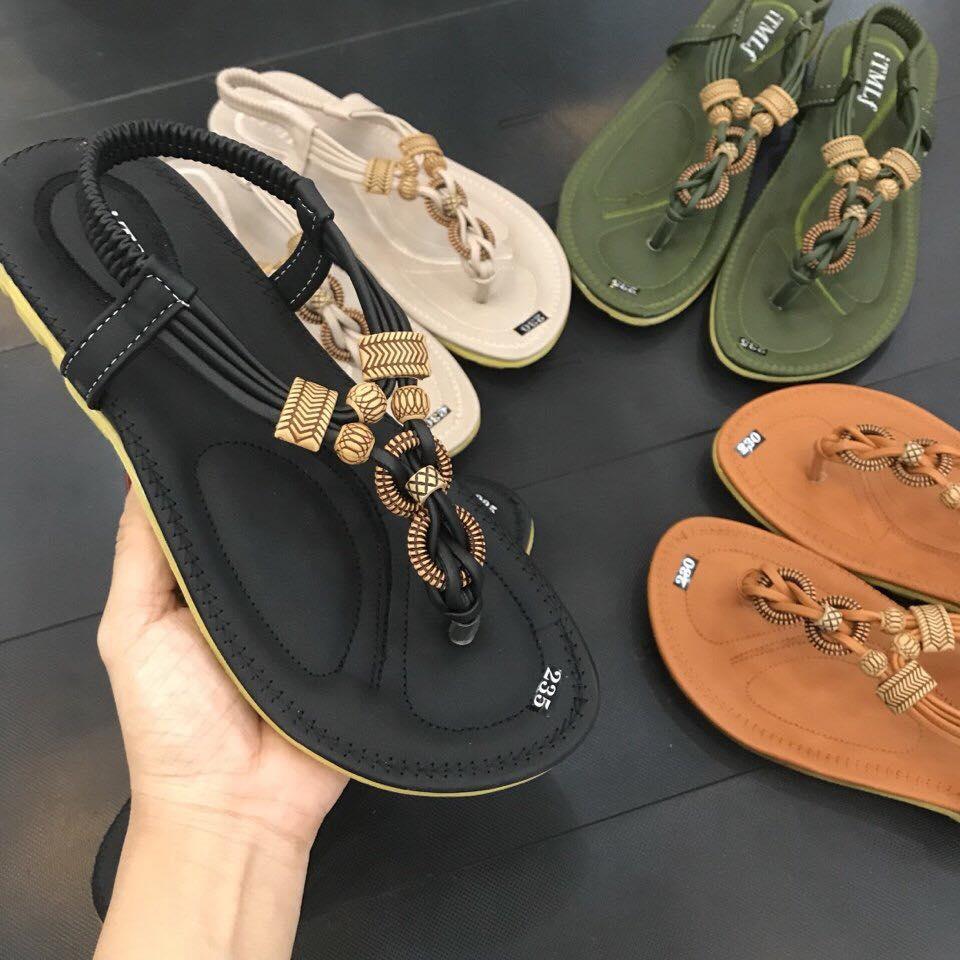 giày sandal ket hat go dep