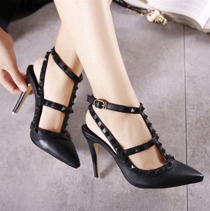 Giày cao gót 10cm valentino