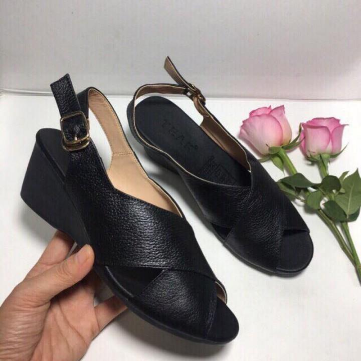 Giày sandal đế xuồng 6cm