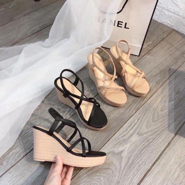 Giày đế xuồng giả gỗ | Đẹp, chất lượng cao