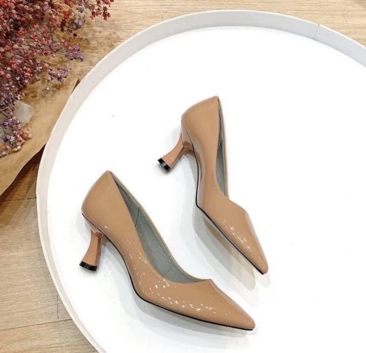 Giày cao gót mũi nhọn 5cm