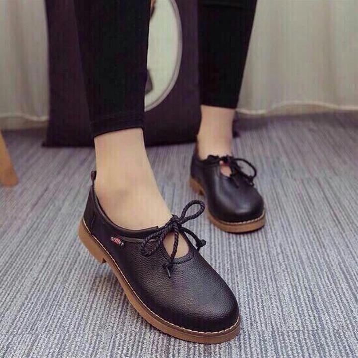 Giày oxford nữ HCM giá rẻ | toát lên vẻ nữ tính và duyên dáng