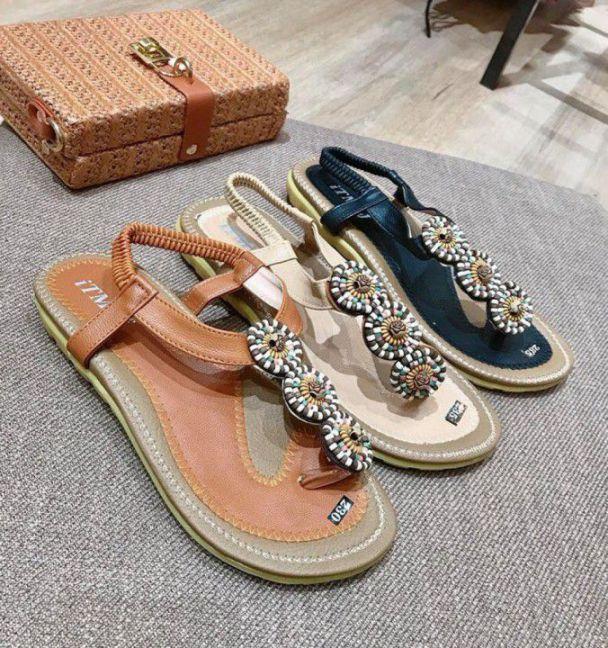 Giày Sandal thổ cẩm