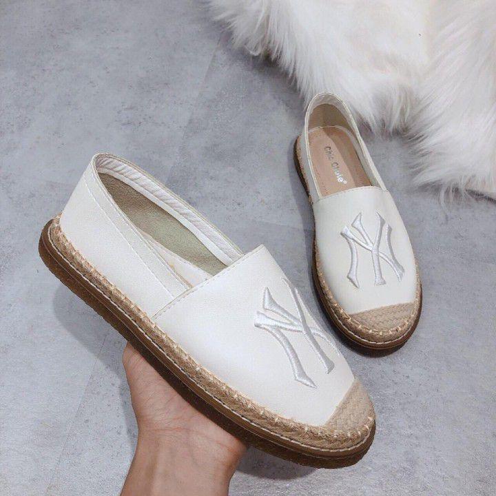 Giày Slip on mũi cói