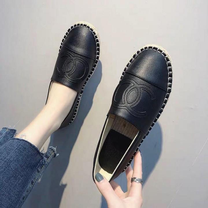 Giày Slipon Viền Cói