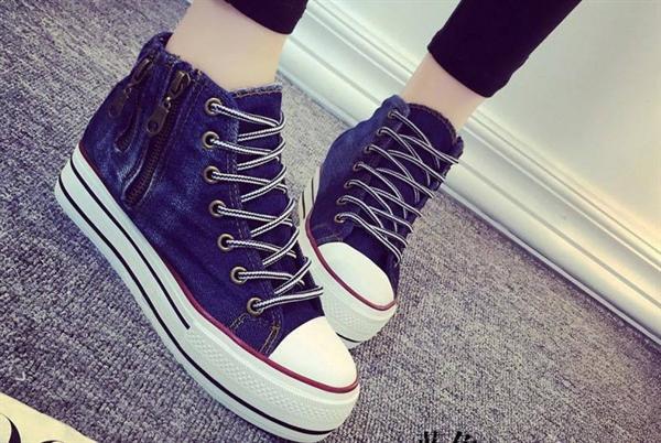 Giày thể thao dây kéo