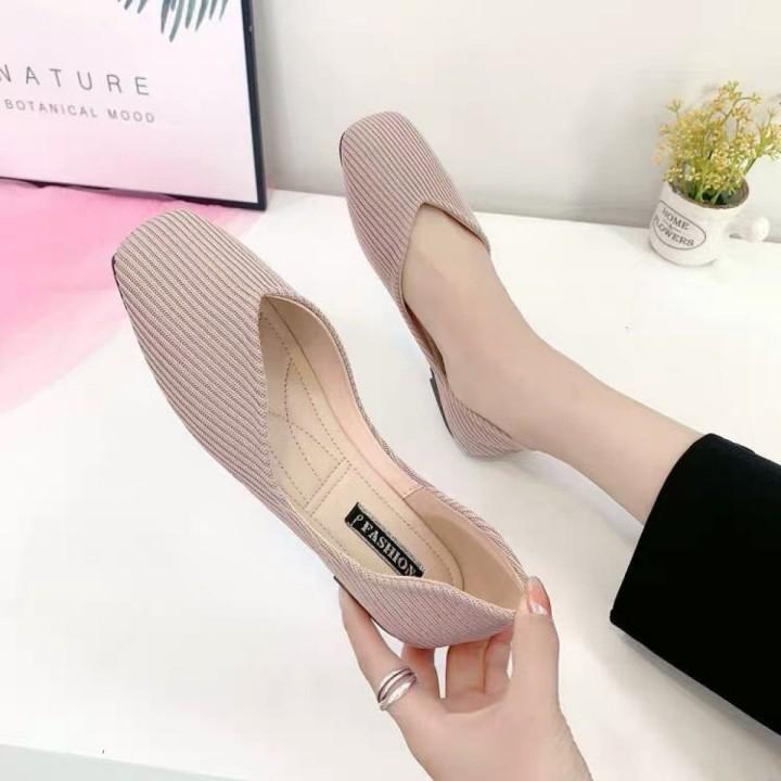 Giày Búp Bê Vải