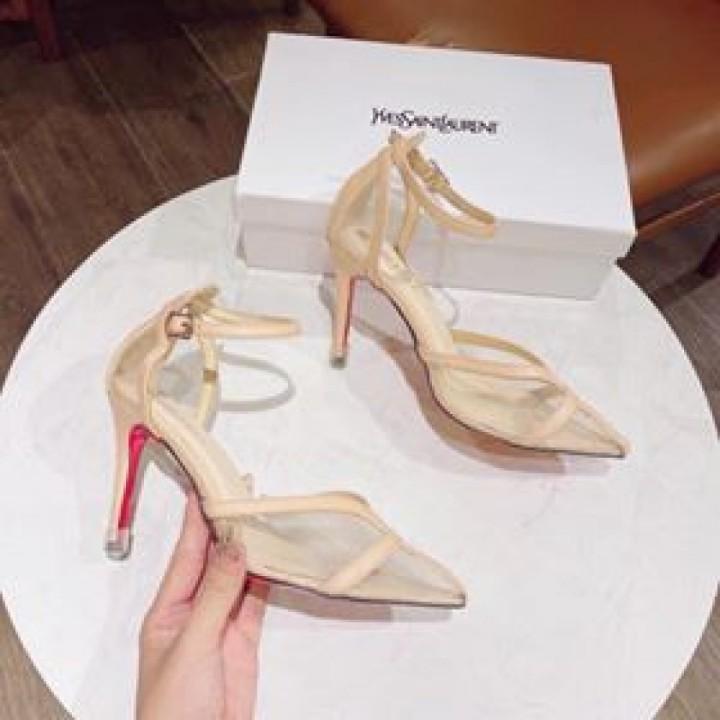 Giày cao gót mũi nhọn 8p