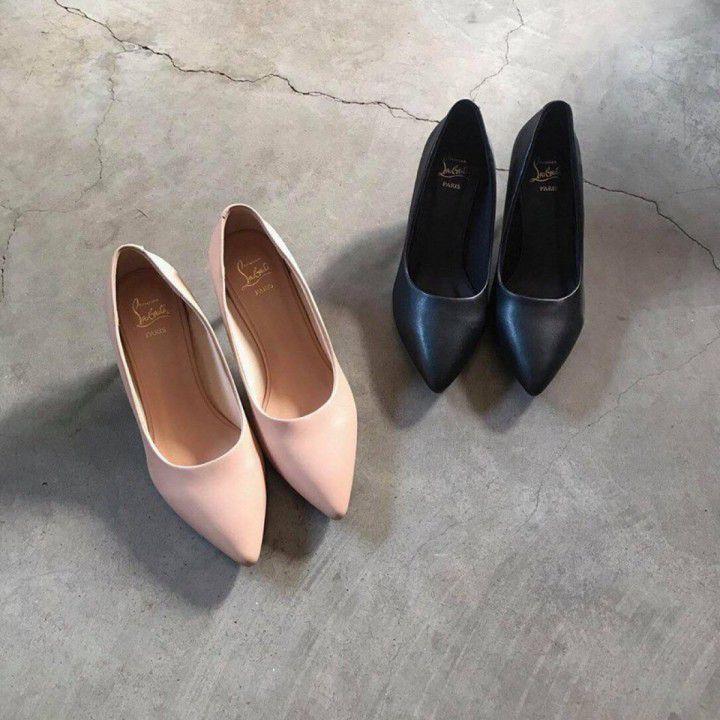 Giày cao gót sắt 5cm